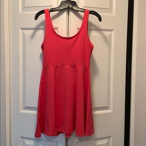 Pink mini dress from Express